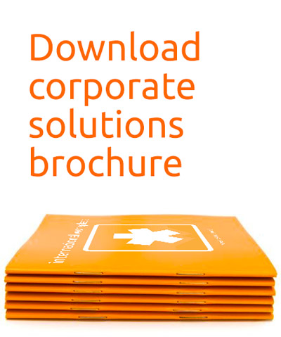 Download corporate solutions brochure